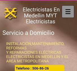 Servicio de electricistas certificados a domicilio