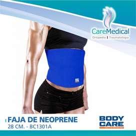 Faja De Neoprene de 28 cm. - BODY CARE BC1301A