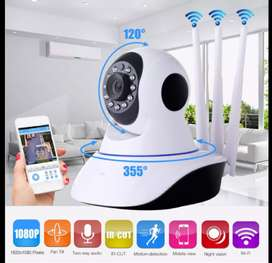 Cámara de seguridad robótica wifi full HD 360 grados