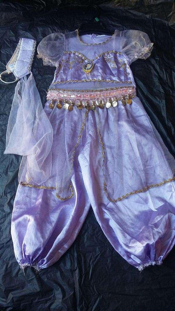 Vendo Disfraz Princesa  Jasmin Talla 6 0