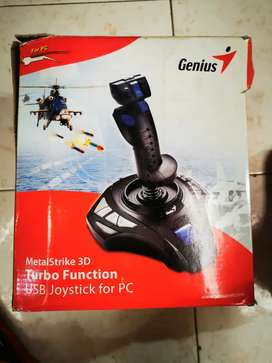 Joystick  Genius metal strike 3d turbo USB