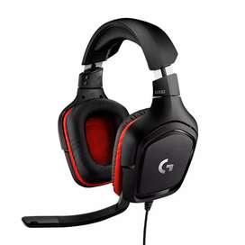 Audífonos Gamer Logitech G332 Diadema 3.5mm Gaming Auriculares Multiplataforma