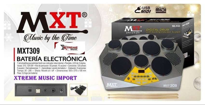 IMPLACABLE BATERIA ELECTRONICA MXT 309 0