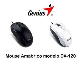 mouse alambrico genius