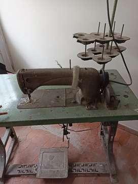 Máquina de coser industrial de segunda