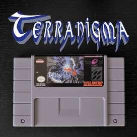 Juego TERRANIGMA para Super Nintendo SNES
