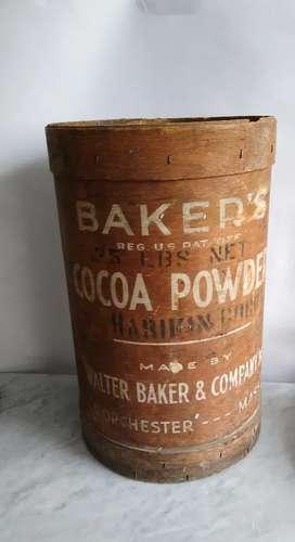 Barril antiguo de panadería