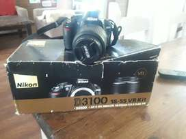 Vendo maquina Nikon 3100