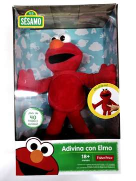 Adivina Con Elmo Plaza Sesamo + De 40 Frases En Español Orig