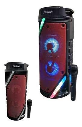 Dream Tech Luz Led Karaoke Dr-719 Sonido Parlante Cabina