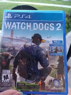 Wach Dogs 2 Fisico Ps4