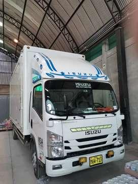 Alquiler de camión isuzu 7toneladas