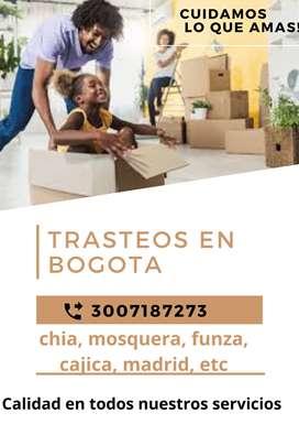 TRASTEOS FONTIBON , SUBA , KENNEDY