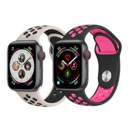 Correa Banda Repuesto Para Apple Watch 42mm Cómoda Silicona