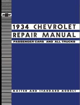 CHEVROLET 1934 MANUAL DE REPARACION