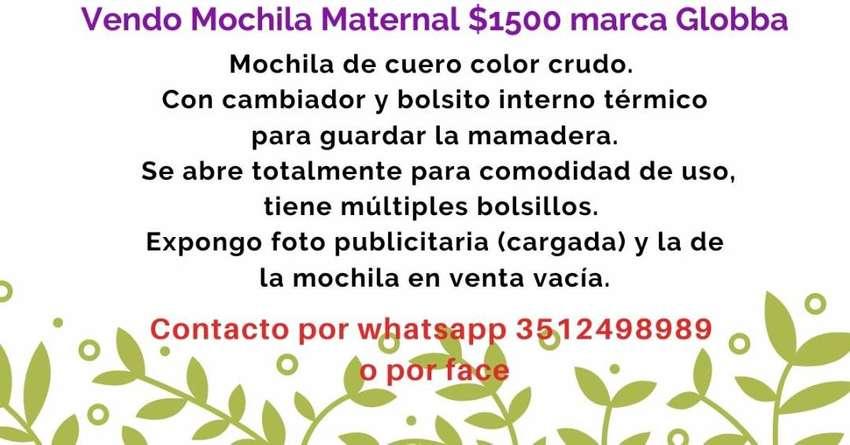 Mochila Maternal marca Globba 0