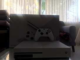Xbox one s   ( con 1 control proo ) ( 2 juegos ) (caja )