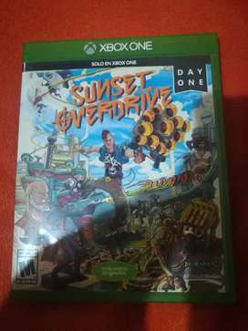 SUNSET OVERDRIVE FÍSICO XBOX ONE