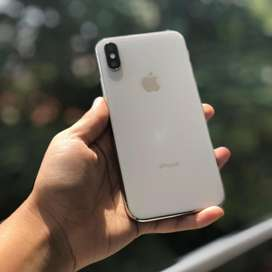 iPhone X 64Gb Color Silver, Blanco / Plata.. Entrega INMEDIATA Cali. IMEI LIBRE. Retoma 7 8 Plus