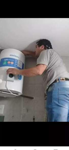 Reparaciones instalaciones limpieza carga de gas aceptamos mercado pago