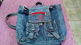 Mochila de jean