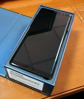 10/10 Por viaje Galaxy Note 8 Negro, en su caja con todos sus accesorios nuevos, solo se usó el cable un par de veces