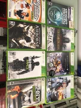 Juegis Xbox 360 originales desde 35