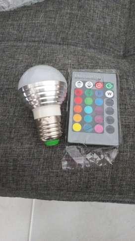 Bombillo led RGB