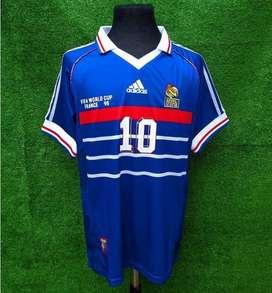 Camiseta seleccion francia france 1998 cup