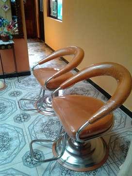 vendo sillones para gabinete de belleza.