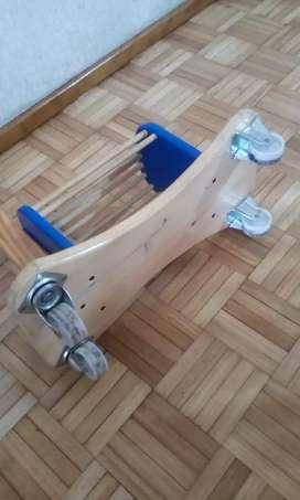 Pata pata de madera
