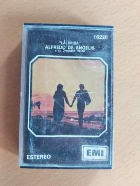La brisa cassette Alfredo de angelis y su orquesta tipica