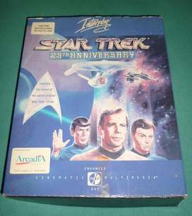 STAR TREK 25 th ANNIVERSARY 1992 JUEGO CD ROM COMPUTADORA INTERPLAY
