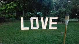 Letrero en Madera para Matrimonios