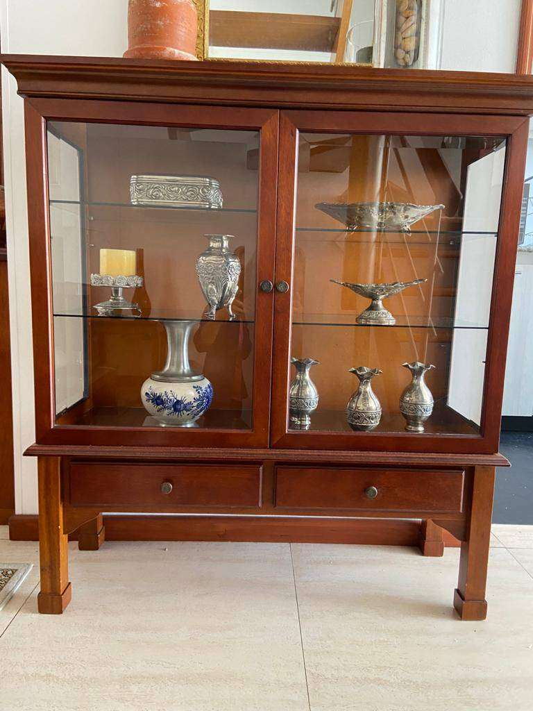 vitrina decorativa en madera 750 0