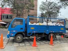 Eliminacion de desmonte en todo Miraflores