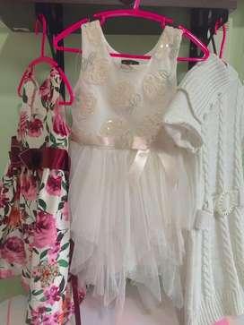 Se vende hermosos vestido para niñas de 3 años