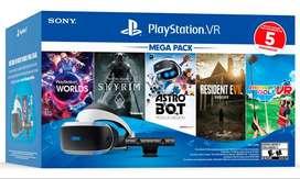 Ps4 PlayStation Vr Bundle megapack + 5 juegos