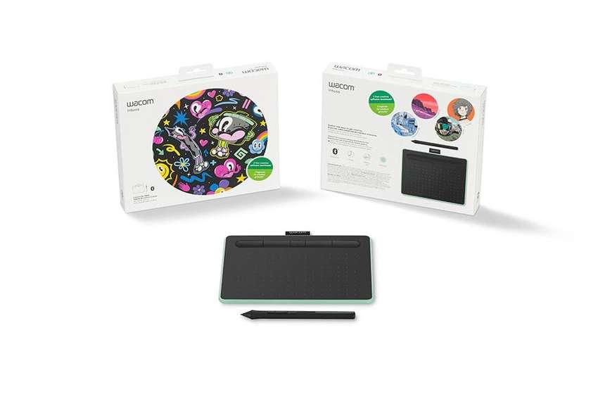 Tableta Digitalizadora Wacom Intuos Ctl4100 0
