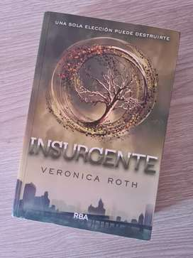 Insurgente por Veronica Roth (2do libro de la saga de Divergente)