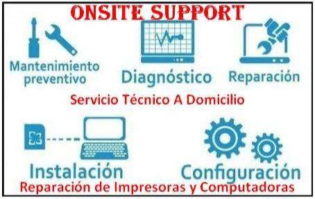 Reparacion de impresoras y computadoras a Domicilio 0