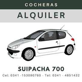 ALQUILER COCHERA SUIPACHA 700 - ROSARIO
