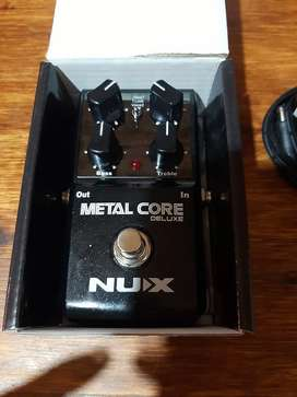 Pedal nux metal core impecable