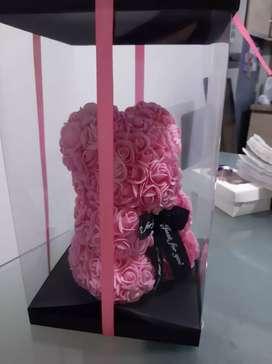 Oso rosas fomi caja