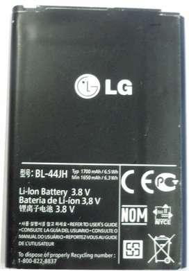 Bateria LG Original Bl-44jh P700 P705 Optimus L7 E460 E465 E451 L5 Ii