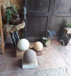 Esferas   en piedra Barichara