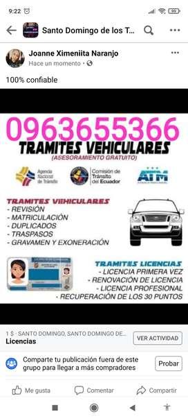 Trámites de licencias