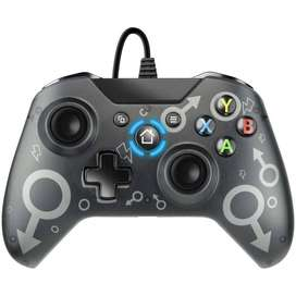 Control Alambrico N-1 Xbox One / One S / One X / Pc Negro