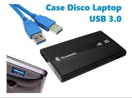 Case Para Discos Duros De Laptop USB 3.0