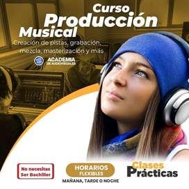 Curso en Cuenca, Producción Musical, Diseño Gráfico, Fotografía y más